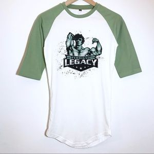 Tops - Ferrigno Legacy Mid Sleeve Workout Top XS